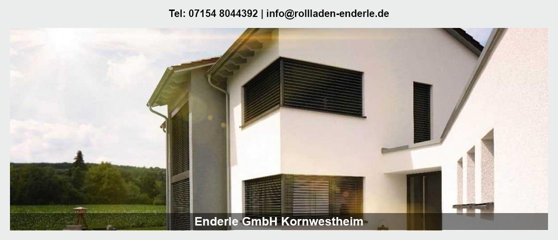 Sonnenschutz für Kornwestheim - Enderle GmbH: Rollladen, Markisen