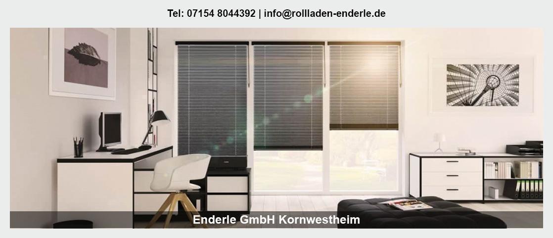 Sonnenschutz Fellbach - Enderle GmbH: Rollladen, Sonnenschutzsegel