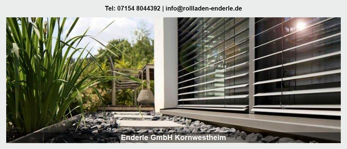 Sonnenschutz Allmersbach (Tal) - Enderle GmbH: Rollladen, Jalousien