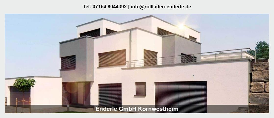 Sonnenschutz für Oppenweiler - Enderle GmbH: Rollladen, Terrassenüberdachungen