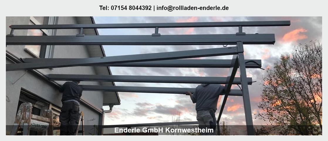 Sonnenschutz in Waiblingen - Enderle GmbH: Rollladen, Terrassenüberdachungen