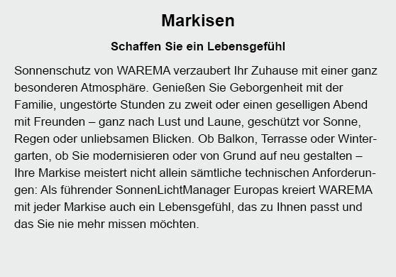 Markisen in  Deizisau